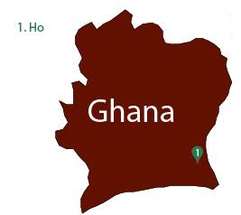 Redemptorist missions in Ghana